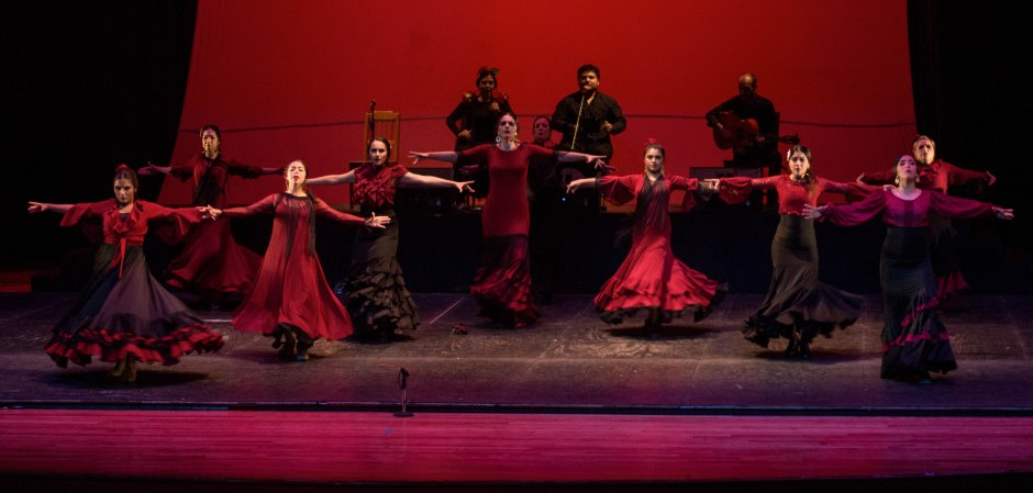 Cierre del Taller de Flamenco